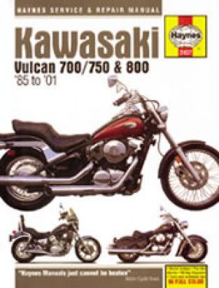 Kawasaki VN 800 A3/A4 97-98 Manual Haynes