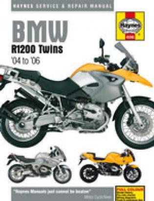 Haynes Manual - BMW R1200GS RT ST S Twins 2004-2006