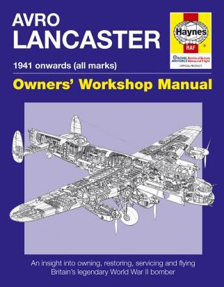 Haynes Manual Avro  Lancaster Manual 1941 onwards