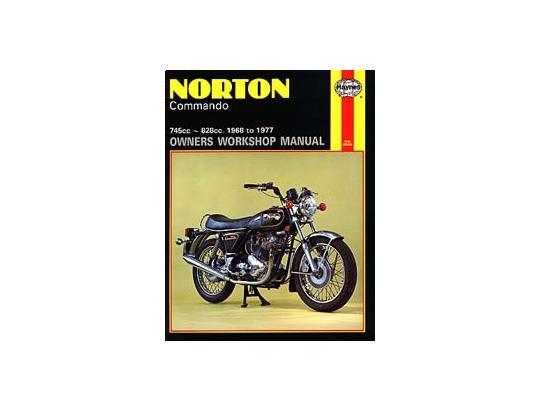 Norton Commando MK3 Interstate (850cc) 76 Manuel Haynes - Attention!  En Anglais