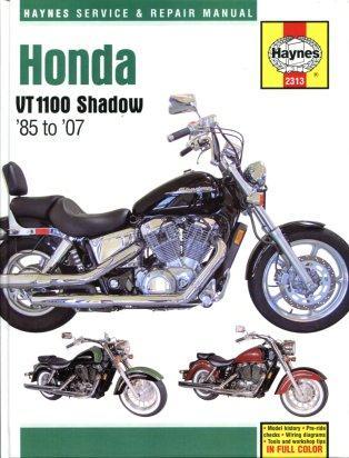 руководство по ремонту honda vt1100 shadow