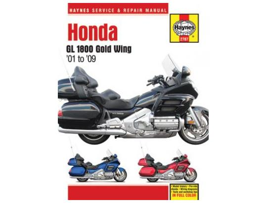 Honda Gl 1800 A6  A7 Goldwing 06-07 Manuel Haynes - Attention  En Anglais Pi U00e8ces Chez Wemoto
