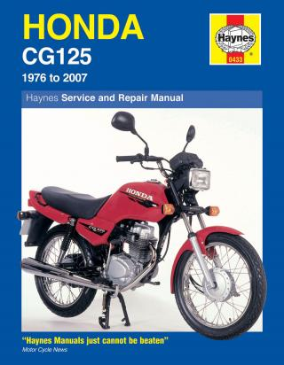 Honda CG 125 E 84 Manual Haynes