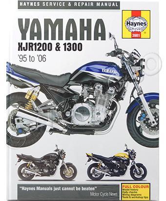 руководство по ремонту yamaha xjr 1200