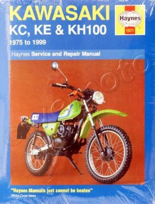 Kawasaki KE 100 A7-A9 79-81 Manual Haynes
