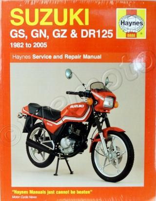 Suzuki GS 125 ESZ/EEZ/EZ 82 Manual Haynes