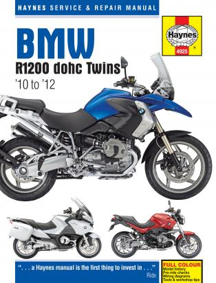 Manual BMW R1200R,RT,GS,GS Adventure 10-12