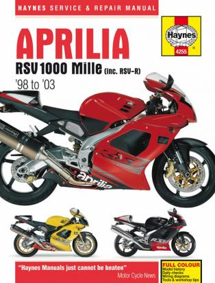 Haynes Manual - Aprilia RSV1000 Mille