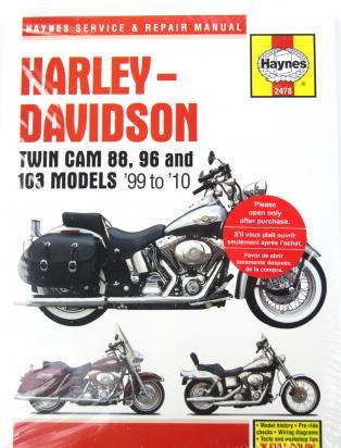 Harley Davidson FLSTC 1450 Heritage Softail Classic 02 Manuál - Haynes (v angličtině)