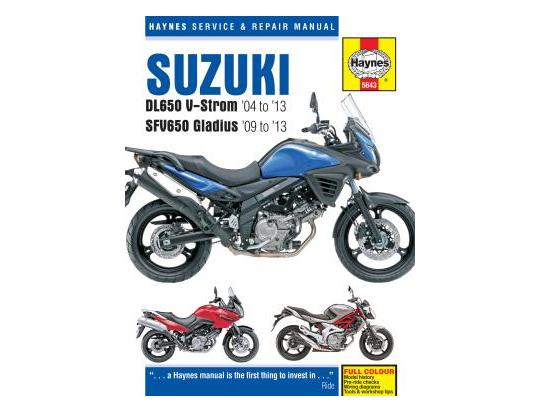Suzuki DL 650 XK9 V-Strom 09 Manual Haynes