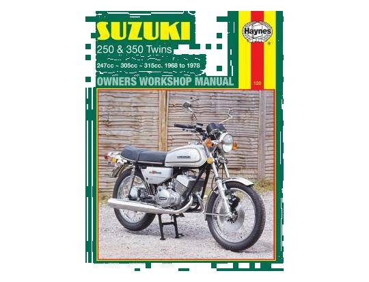 Suzuki GT 250 B 77 Manual Haynes