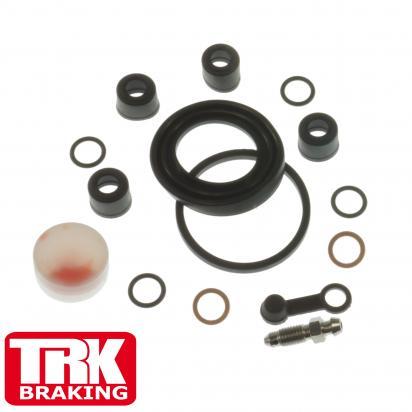 Kawasaki Z 440 LTD (KZ 440 A2) 81 Brake Caliper Repair Kit Front - by TRK