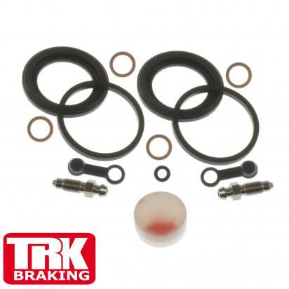 Suzuki GS 1000 ET Chain Drive 81 Brake Caliper Repair Kit Rear - by TRK