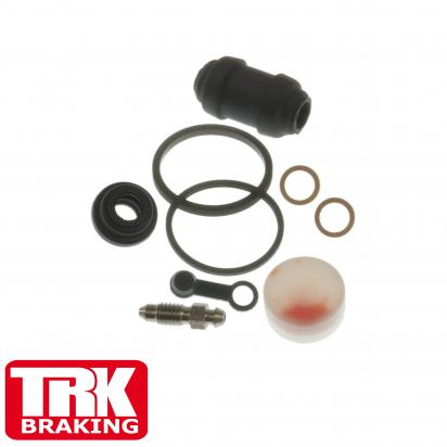 Suzuki SV 650 SK7 07 Brake Caliper Repair Kit Rear - by TRK