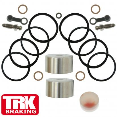 Suzuki GSF 600 SY Bandit 00 Brake Piston and Seal Kit Stainless Steel Rear - by TRK