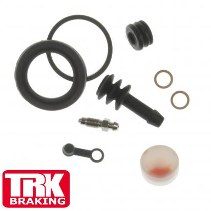 Kawasaki KLE 500 A1 91 Brake Caliper Repair Kit Rear - by TRK