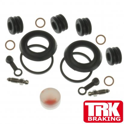 Suzuki GS 1000 ET Chain Drive 81 Brake Caliper Repair Kit Front (Twin) - by TRK