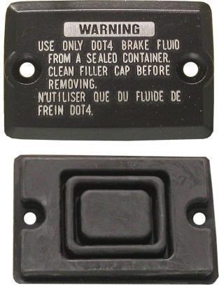 Kawasaki ZX9R (ZX 900 B3/B4) 96-97 Front Brake Master Cylinder Cap Kit