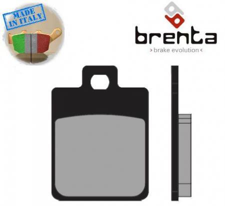 Piaggio Vespa S 125 ie 11-13 Pastiglie Freno Brenta Organiche (Tipo GG)