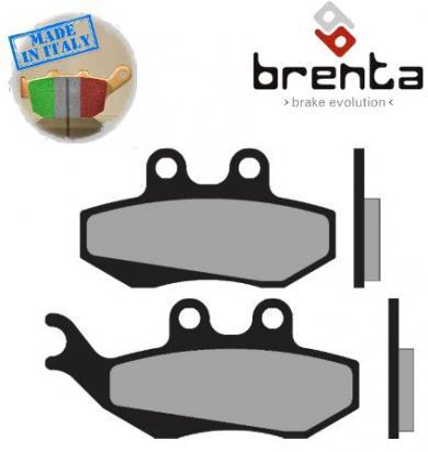 HM Moto CRE 50 Baja RR (from ZEN50XACEA7700325) 07-09 Pastillas de Freno Delanteras Brenta Estándar (Tipo GG)