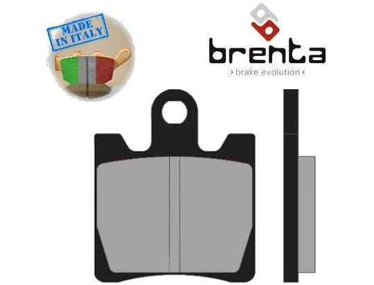 Daelim S1 125 14 Brzdové destičky Brenta sintrované (HH) - přední