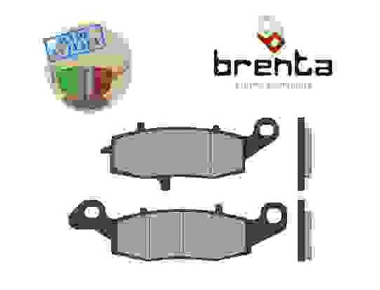 Kawasaki VN 1700 Classic Tourer 13 Brake Pads Rear Brenta Sintered (HH Type)