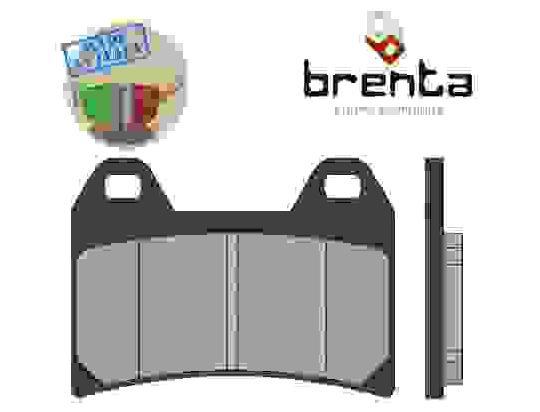Benelli Uno C 150 13 Klocki hamulcowe - spiekane (typ HH) - przód - firmy Brenta