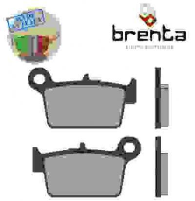 T.M. EN 250 (2T) 12 Pastillas de Freno Traseras Sinterizadas Brenta (Tipo HH)