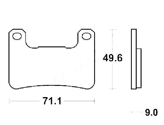Suzuki GSXR 600 K7 07 Brake Pads Front Brenta Standard (GG Type)
