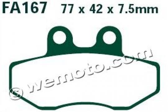 Aprilia Classic 125 00-01 Pads Front EBC Standard (GG Type)