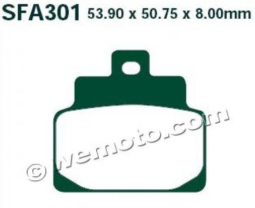 Aprilia Habana/Mojito Custom 125 00-02 Pads Front EBC Standard (GG Type)