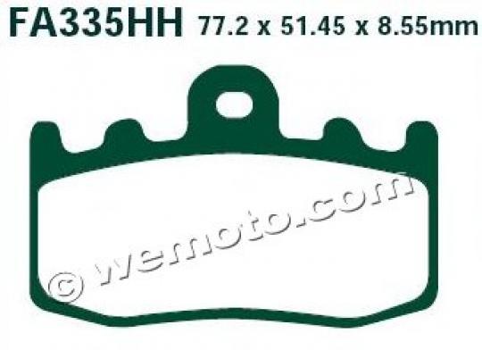 BMW K 1200 GT (K41) 03-04 Pads Front EBC Sintered (HH Type)