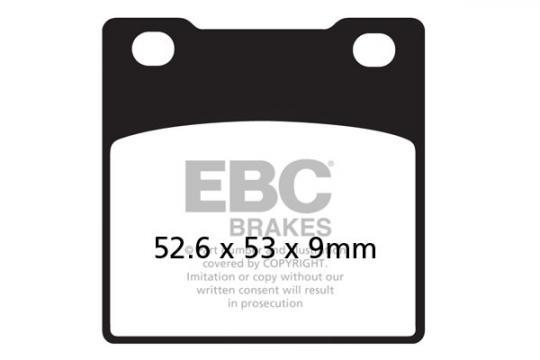 Suzuki GSXR 750 M Slingshot 91 Brake Pads Rear EBC Standard (GG Type)