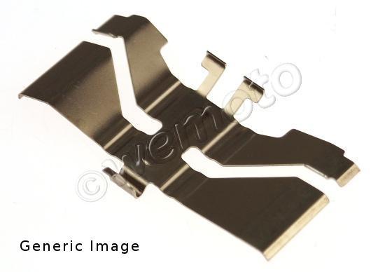 Honda MBX 80 FWD / FWF (Single Disc) 83-86 Muelle Retención Pastillas de Freno Delanteras