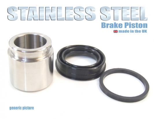 Kawasaki Z 650 (KZ 650 B1) 76-77 Brake Piston and Seals (Stainless Steel) Front Caliper