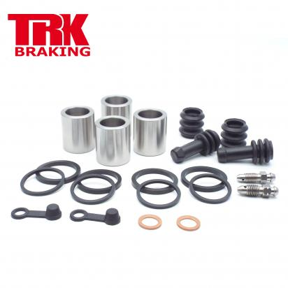 Kawasaki ER-6 F DBF (ABS) 11 Brake Piston and Seal Kit Stainless Steel Front (Twin) - by TRK