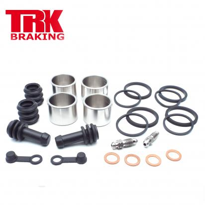 Suzuki SV 650 SL2 12-15 Brake Piston and Seal Kit Stainless Steel Front (Twin) - by TRK