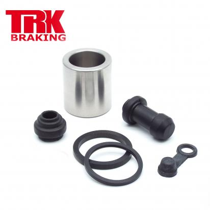 Kawasaki KX 250 M2 04 Brake Piston and Seal Kit Stainless Steel Rear - by TRK