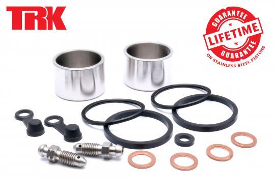 Suzuki GSXR 600 K1 01 Brake Piston and Seal Kit Stainless Steel Rear - by TRK