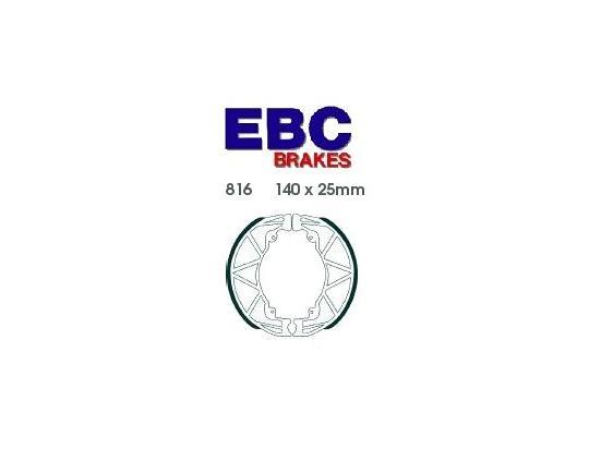 Derbi Boulevard 200 07 Brzdové čelisti EBC standard - zadní