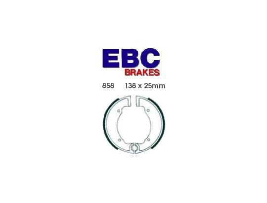 BSA Bantam D7 Super 63-66 Mâchoires de Frein Avant EBC Standard