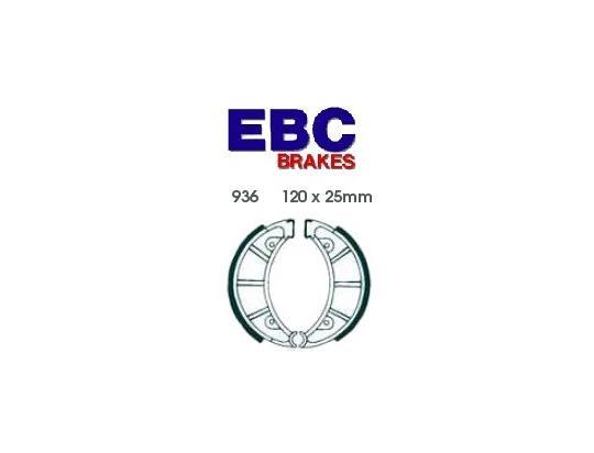 Rieju MR 80 87 Brzdové čelisti EBC drážkované - přední