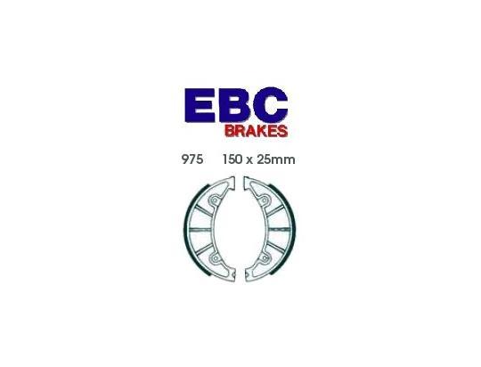 Zundapp KS 100 (100cc) 69 Mâchoires de Frein Arrière EBC Standard