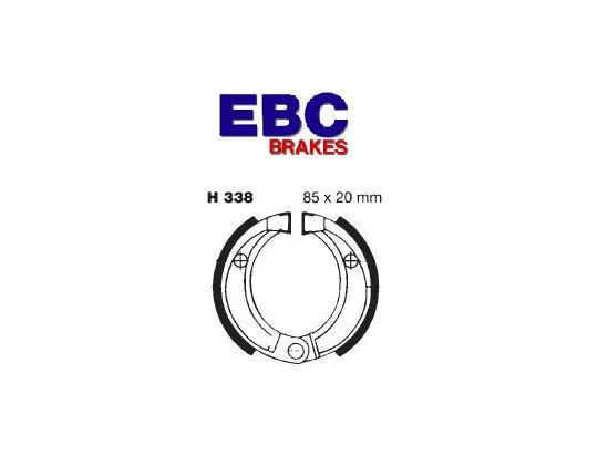 E-Ton AXL-50 Lightning 50 99-00 Brake Shoes Front EBC Grooved