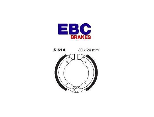 Quadzilla R100 (100cc) 06-07 Brzdové čelisti EBC drážkované - přední