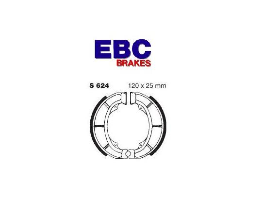 Suzuki LT 160 K3/K4 Quadsport 03-04 Shoes Front EBC Grooved