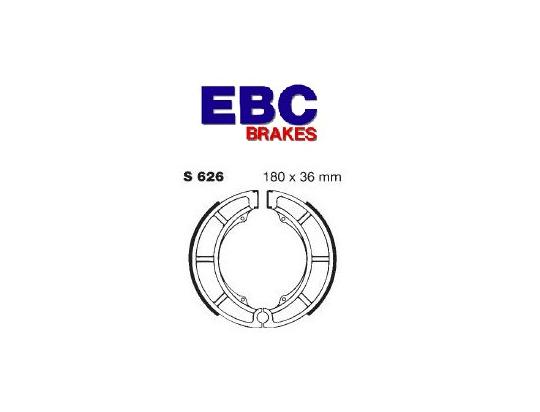 Suzuki VS 700 GLEFG/GLEPG(Cast wheel 5 bolt) 86 Brake Shoes Rear EBC Standard