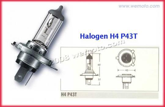 Yamaha FZ1 S Fazer 08-09 Bulb Headlight