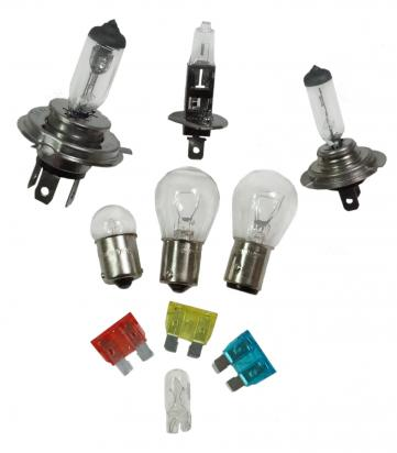 Emergency Bulb and Fuse Set  H4 12V60/55W