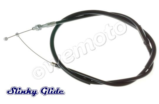 Kawasaki KLE 500 A1 91 Throttle Cable B (Push) by Slinky Glide